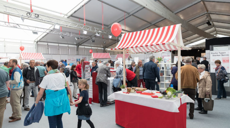 Bauen und Wohnen Messe Wettingen 2018 Aargau