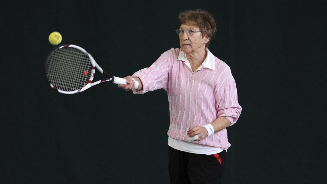 Beatrice Wettstein Tennis Seniorin 82 Jahre