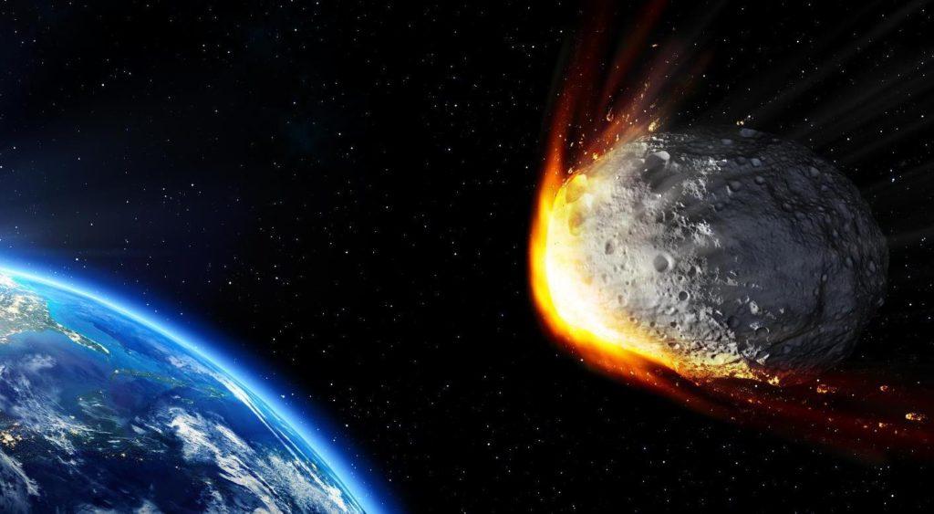 Meteorit Naturkatastrophe