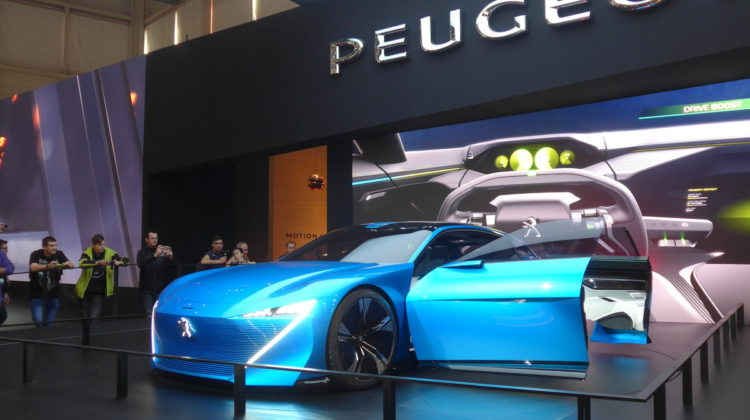 Autosalon Genf Peugeot Ausstellung Auto