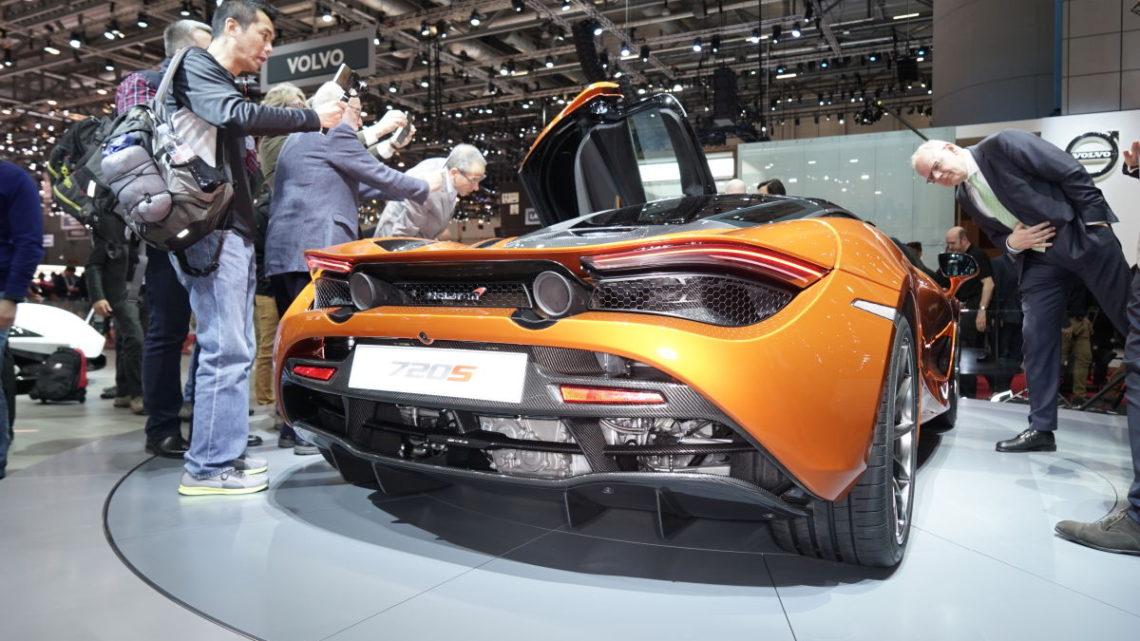 Autosalon Genf Aussteller Autos