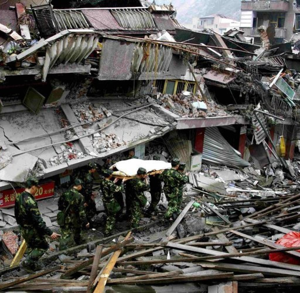 Erdbeben Tangshan Naturkatastrophe