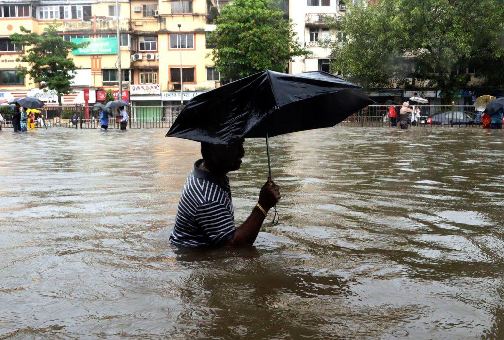 Monsun Indien Naturkatastrophe