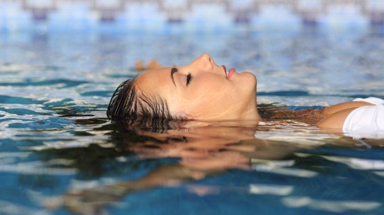 Durchatmen Stress bewältigen Wellness Entspannen