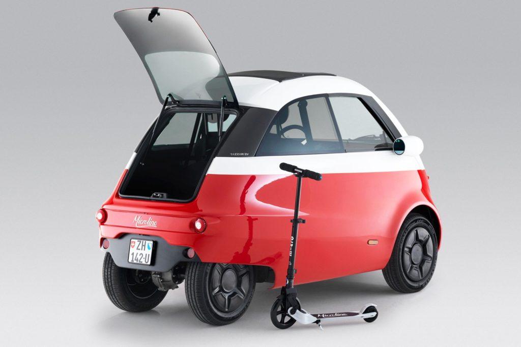 Microlino Car E-Fahrzeug