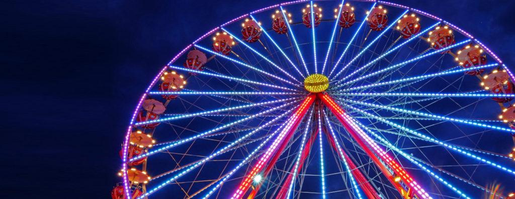 Stadtfest Dietikon 2018 Riesenrad Chilbi