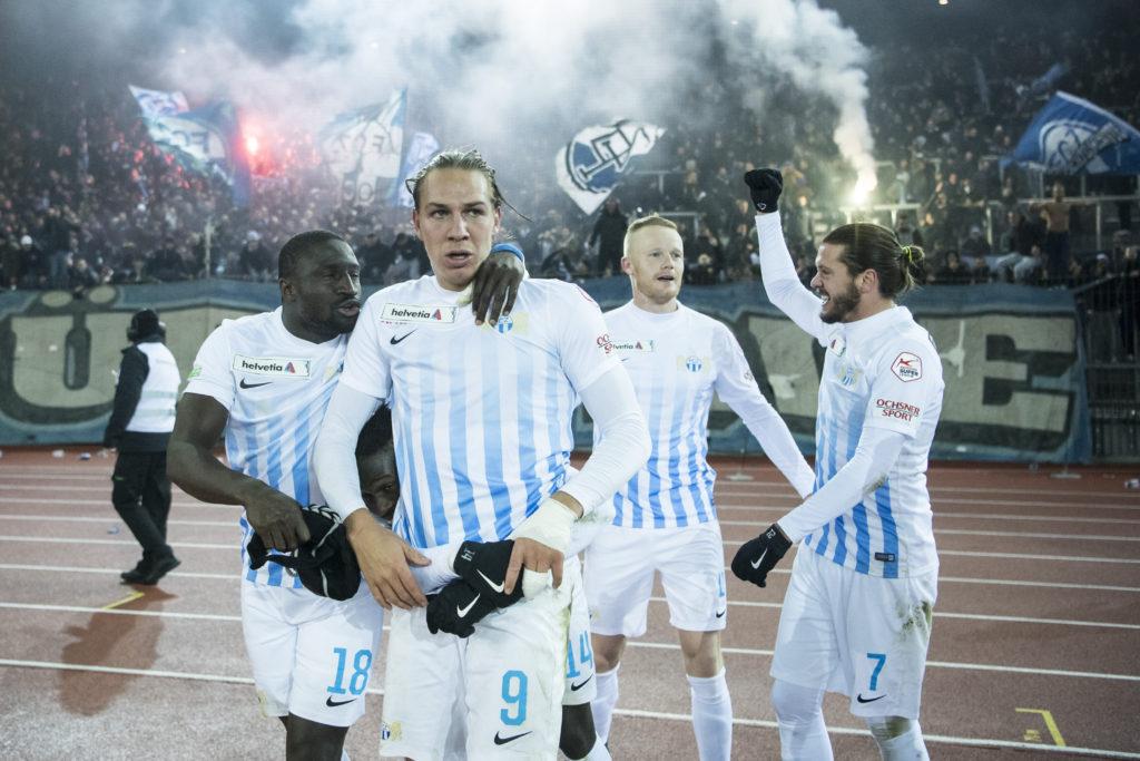 FCZ gegen Thun im Letzigrund Cupfinal