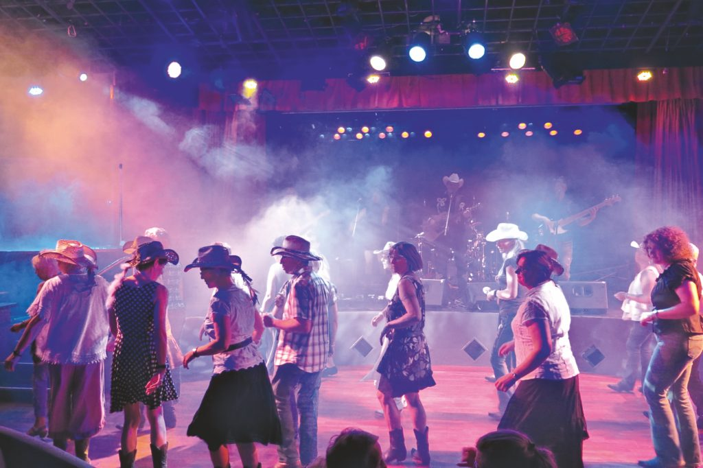 Country Music Cruise Kreuzfahrtschiff Line Dance