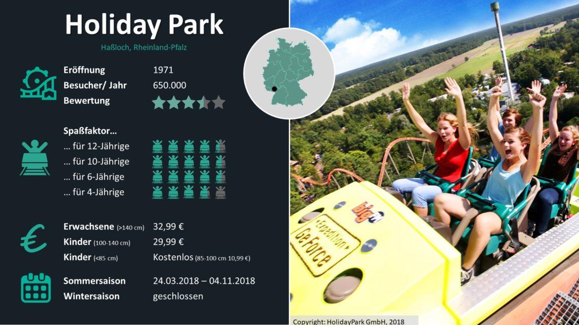 Freizeitparks Deutschland Statistiken Holiday Park