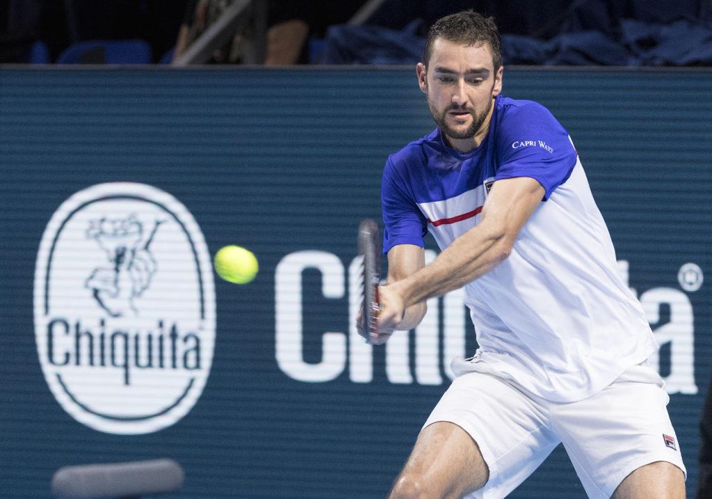 Marin Cilic Swiss Indoors Basel ATP 2018