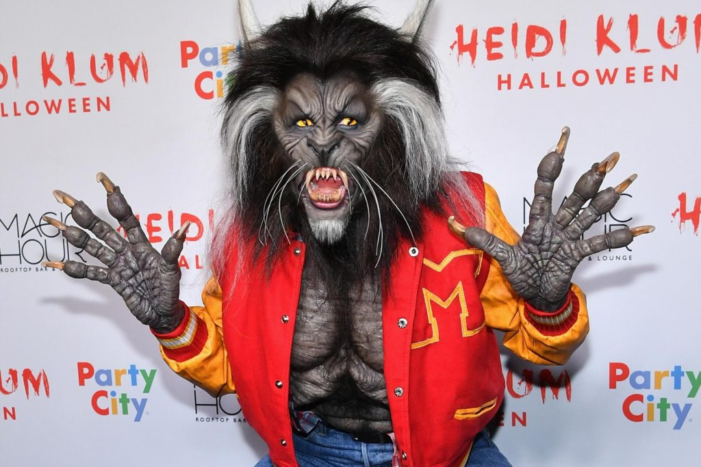 Halloween Heidi Klum Kostüm