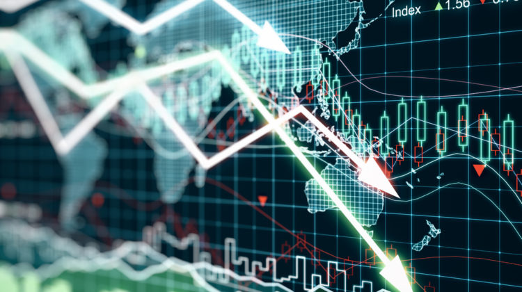 Börsenverlust Geldverlust Geld Anlage Börse Finanzkolumne