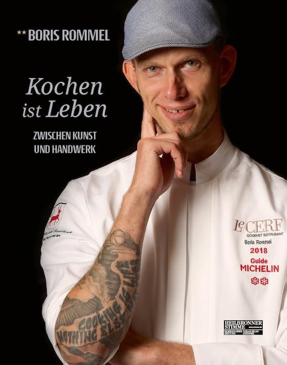 Boris Rommel Kochen ist Leben Kochbuch Weihnachtsgeschenk
