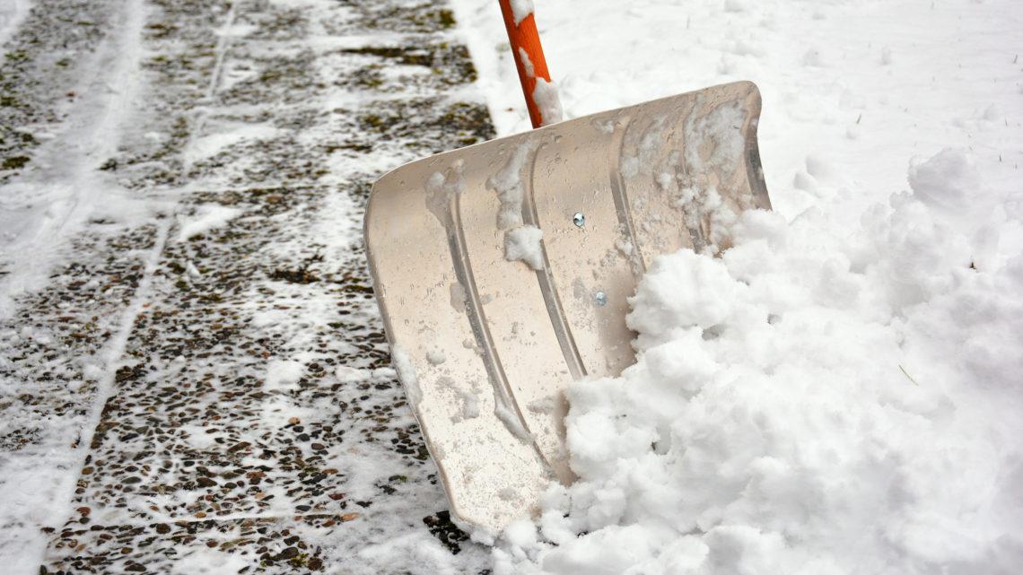 Schneeräumung Schnee räumen Bauhaus
