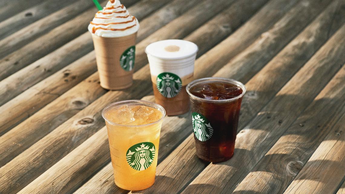 Starbucks Sommerdrinks Getränke 2019
