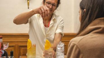 Grand Tonic Grand Manier Seerose Bartender