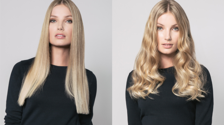 BaByliss Smooth and Wave 2in1 blonde Contcept worldofwellness