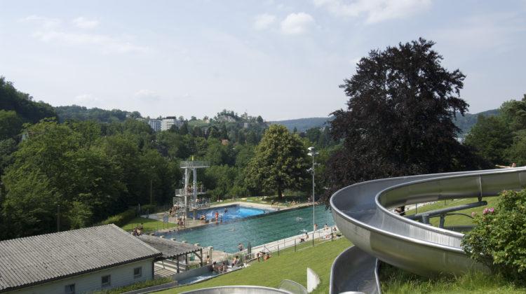 Terrassenbad Baden Schwimmbad Aargau