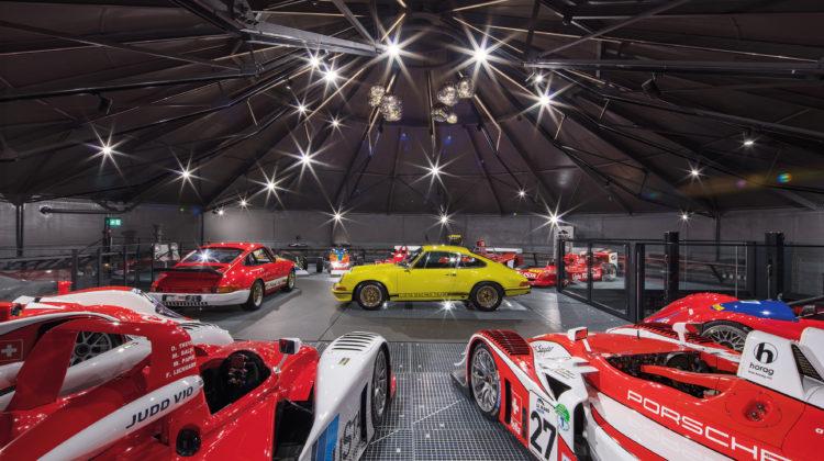autobau AG erlebniswelt Fredy A. Lienhard Rennfahrer