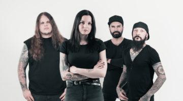 Underskin Andrina Tavers Rockband Interview Band Musik