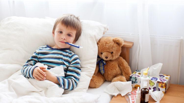 Kindergesundheit Kinderkrankheiten Grippe Masern Röteln Keuchhusten Windpocken
