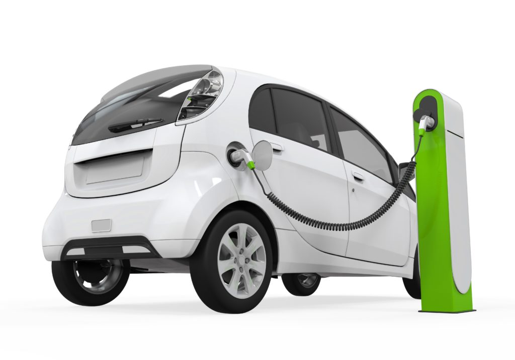 E-Autos Fragen E-Mobilität Elektroauto Aufladestation weiss 123 RF worldofwellness