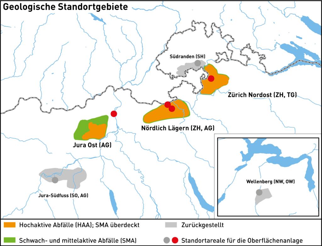 Nagra Tiefbohrungen Geologische Standortgebiete Etappe trendsandstyles