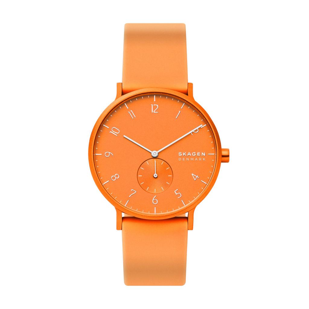 Skagen Aaren Kulor Neon orange Modell trendsandstyle