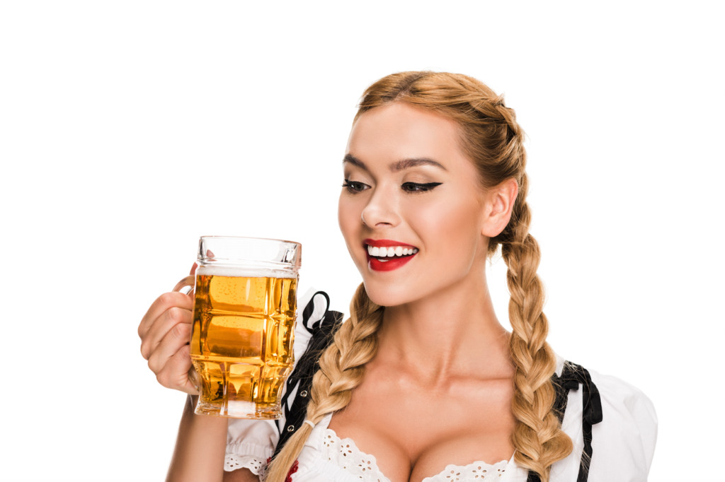 Oktoberfest Styling Tipps Look blond Make up Frisur 123RF worldofwellness