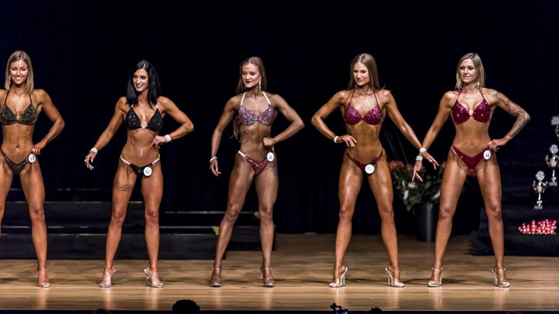 SNBF Fitness Bodybuilding Schweiz Frauen Reihe SM 2018 trendsandstyle
