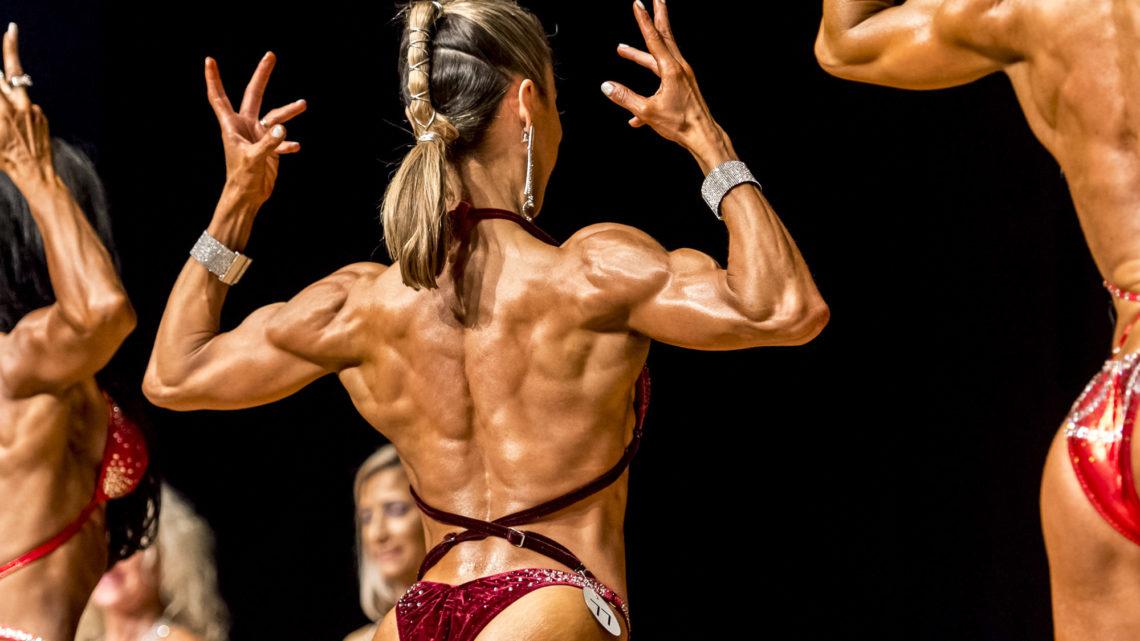 SNBF Fitness Bodybuilding Schweiz Frauen Rücken SM 2018 trendsandstyle