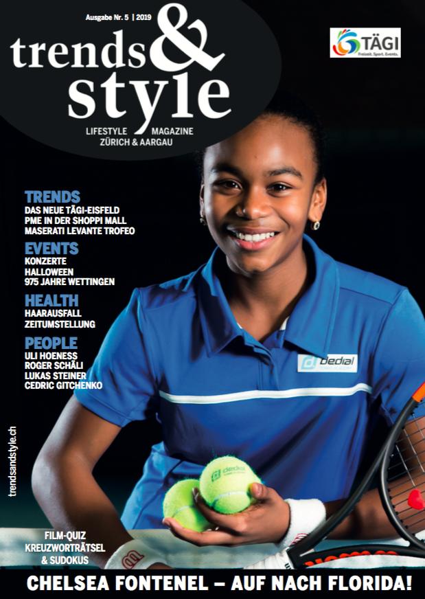Ausgabe 5/19 Chelsea Fontenel trends&style